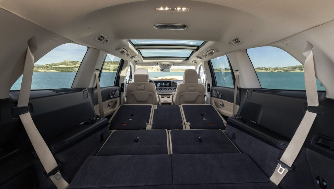 2020 Mercedes GLS 450 Cargo Space