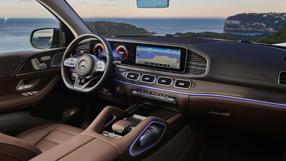 2020 Mercedes GLS 450 Interior